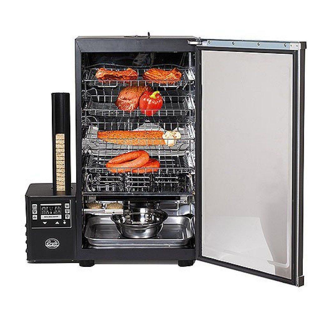 Коптильня с холодильника с дымогенератором