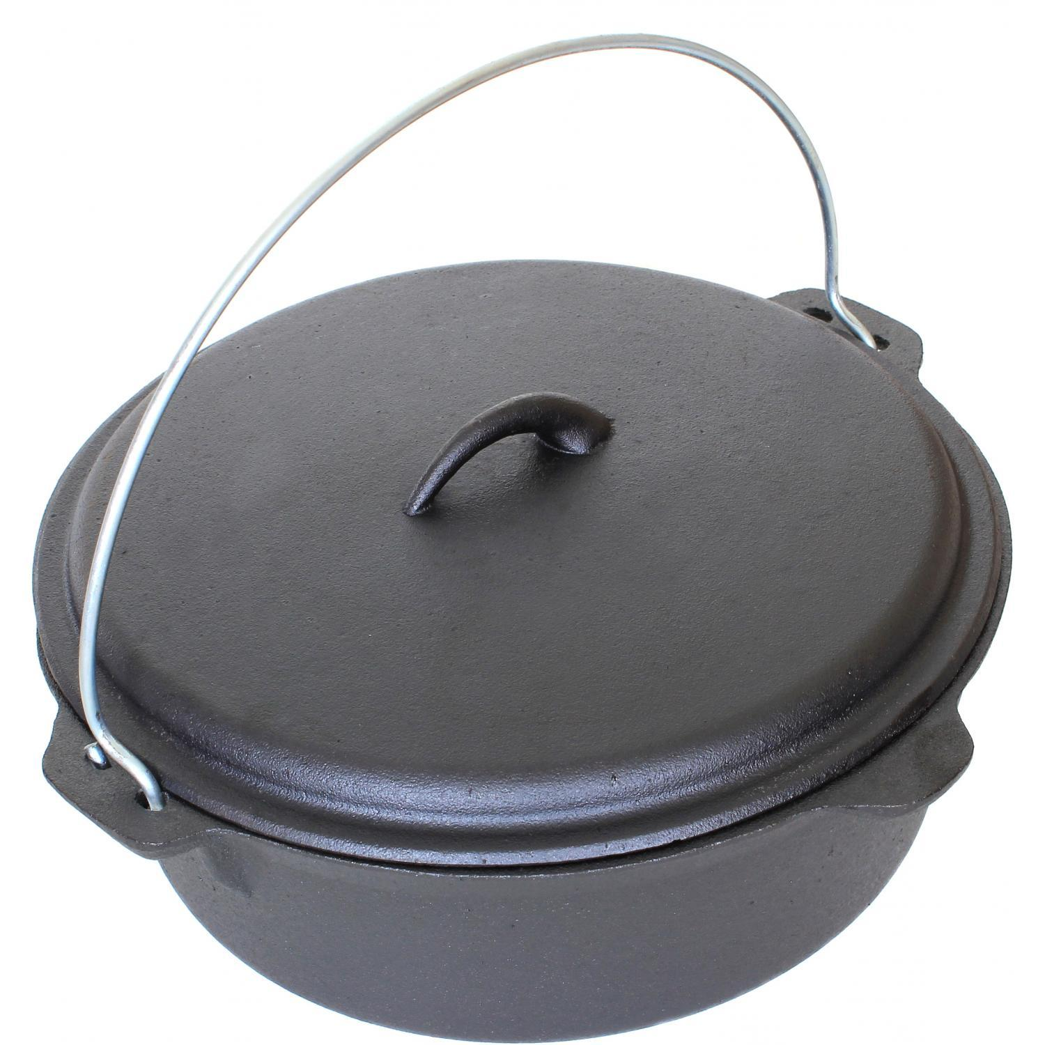 Cheap cajun cookware dutch ovens 6 quart seasoned cast iron dutch oven - Cajun Cookware Dutch Ovens 6 Quart Seasoned Cast Iron Dutch Oven