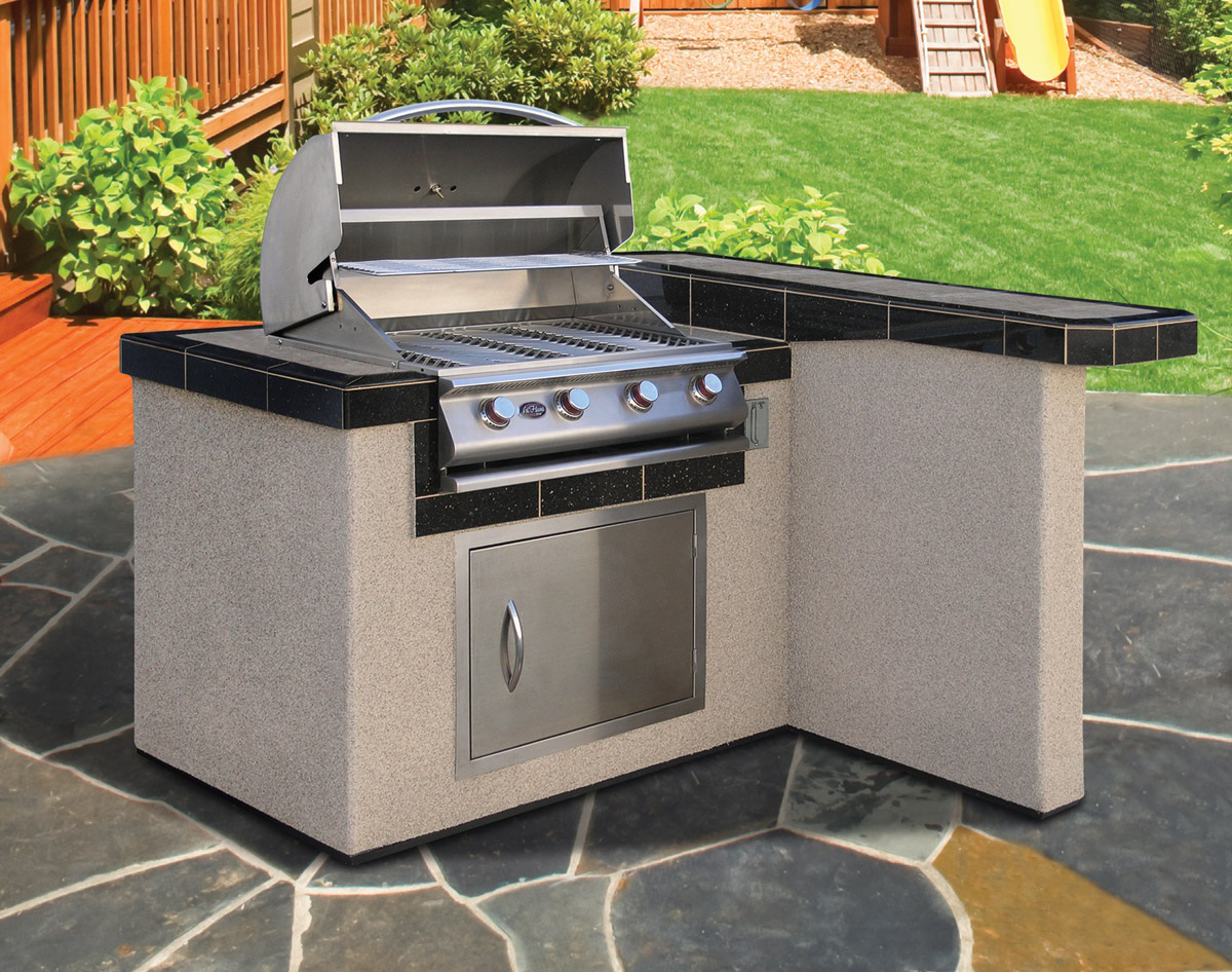 Cal Flame Lbk 401 Outdoor Kitchen Kit