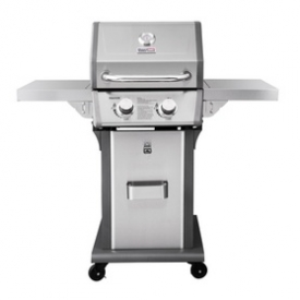 2-Burner Patio Propane Gas Grill Outdoor Cooking