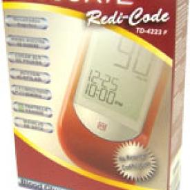 Advocate Redi-Code Diabetes Meter Kit TD-4223F – Blood Glucose Monitor