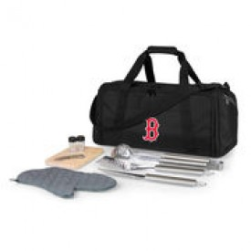 Boston Red Sox Black BBQ Kit Cooler