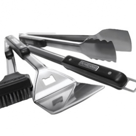 Broil King 64004 Professional Grilling Barbecue Tool Set, 4 Piece