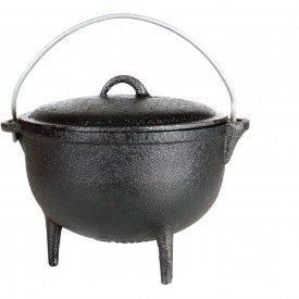 Cajun Cookware 1 Quart Seasoned Cast Iron Camp Pot With Legs – GL1045SS
