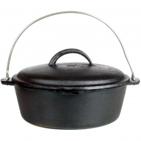Cajun Cookware Dutch Ovens 2-Quart Seasoned Cast Iron Dutch Oven – GL10486S