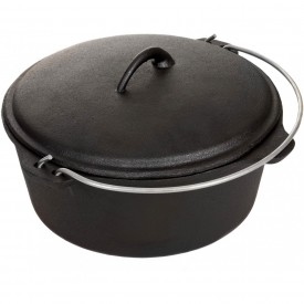 Cajun Cookware Dutch Ovens 4.5 Quart Seasoned Cast Iron Dutch Oven – GL10487S