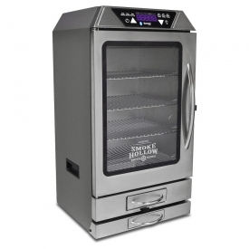 Digital Electric Smoker Outdoor Leisure Products – Smoke Hollow, Silver
