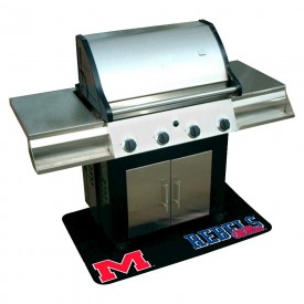 University of Mississippi Rebels: Ole Miss BBQ Grill Pad