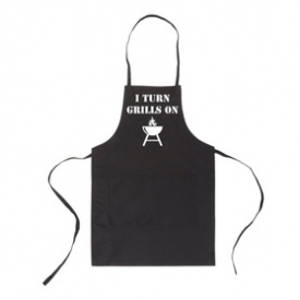 I Turn Grills On Unisex Two Pocket Adjustable Apron