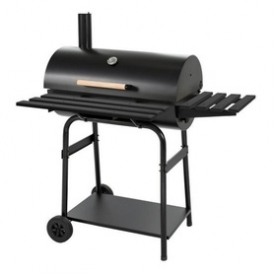 Portable BBQ Grill Charcoal Built W/ 2 Metal Shelf