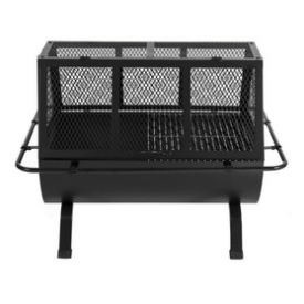 Steel Grill BBQ Fire Pit Outdoor Cooking