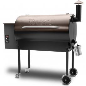 Traeger Texas Elite Pellet Grill On Cart – Bronze