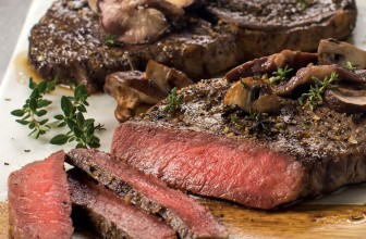 Pellet Grill Ribeye Steak