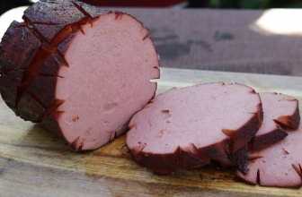 Pellet Grill Smoked Bologna with BBQ Glaze